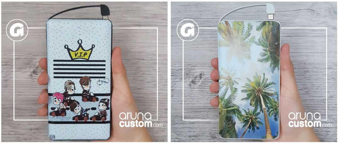 Powerbank Delcell dari Aruna Custom
